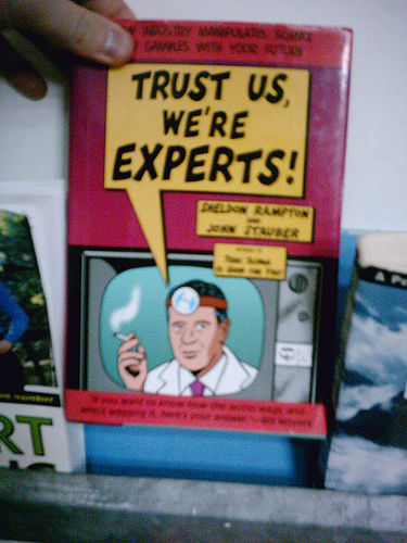 """Trust us, we're experts"" by flickr/phauly"