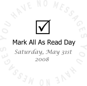 Mark All As Read Day - flickr/sidereal